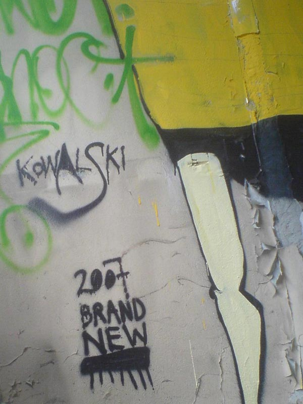 kowalski brand new